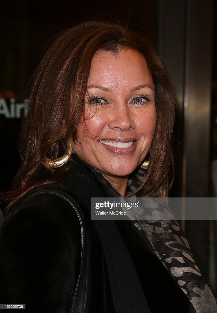 Vanessa Williams attends the Broadway opening night of 'Machinal' at American Airlines Theatre on January 16, 2014 in New York, New York.