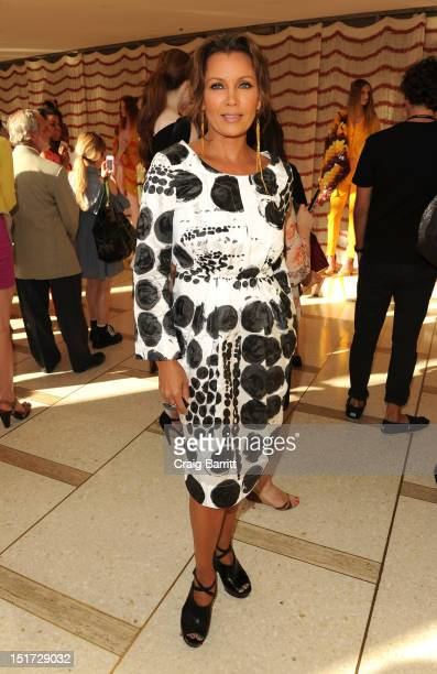 Vanessa Williams attends the Chris Benz runway show at the Spring 2013 MercedesBenz Fashion Week at Avery Fisher Hall Lincoln Center on September 10...