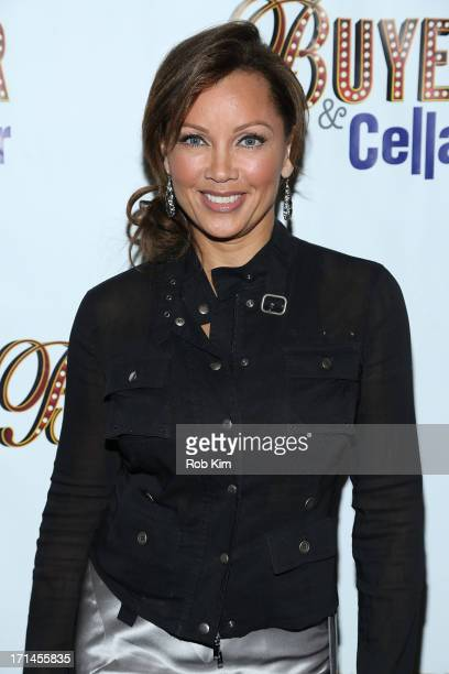 Vanessa Williams attends the opening night for 'Buyers Cellars' at the Barrow Street Theatre on June 24 2013 in New York City
