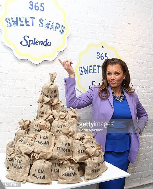 Vanessa Williams attends the Splenda #Sweetswaps Charitable Social Media Campaign Kick Off at Haven's Kitchen on March 25 2014 in New York City