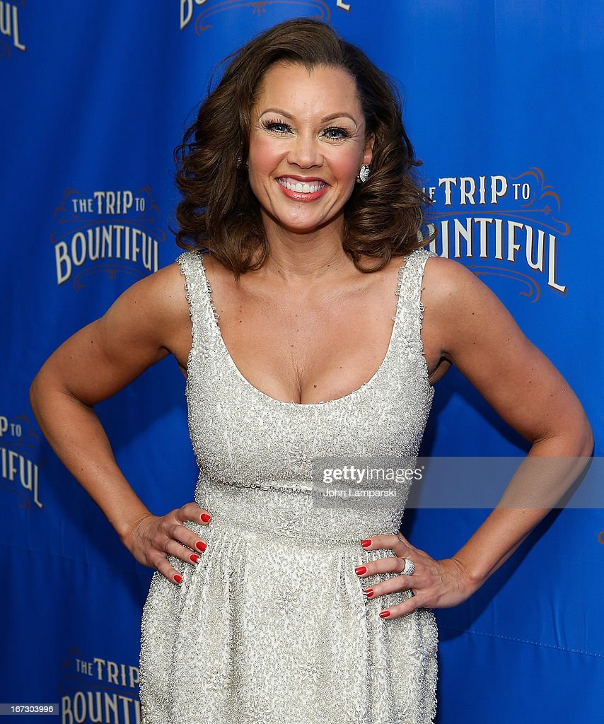Vanessa Williams attends the 'The Trip To Bountiful' Broadway Opening Night after party at Copacabana on April 23, 2013 in New York City.