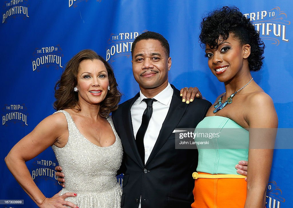 Vanessa Williams, <a gi-track='captionPersonalityLinkClicked' href=/galleries/search?phrase=Cuba+Gooding+Jr.&family=editorial&specificpeople=208232 ng-click='$event.stopPropagation()'>Cuba Gooding Jr.</a> and Condola Rashad attend the 'The Trip To Bountiful' Broadway Opening Night after party>> at Copacabana on April 23, 2013 in New York City.