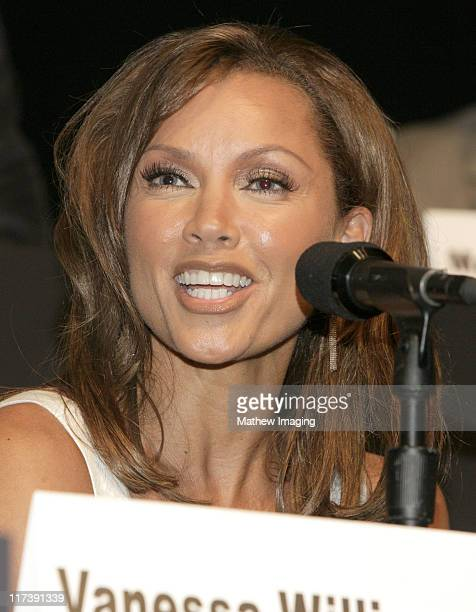 Vanessa Williams during The Academy of Television Arts Sciences Presents An Evening with 'Ugly Betty' Panel at Leonard H Goldenson Theatre in North...