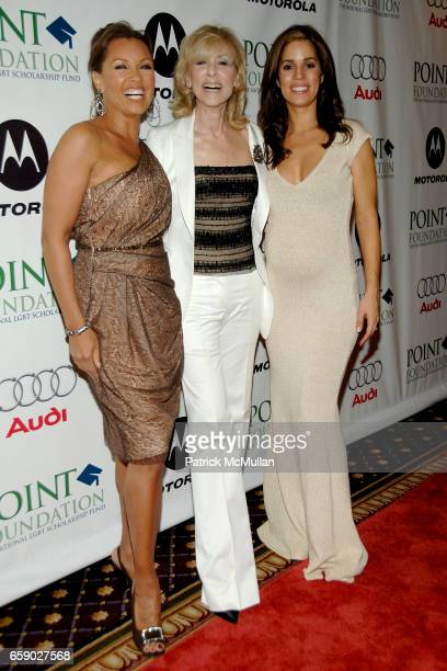 Vanessa Williams Judith Light and Ana Ortiz attend POINT FOUNDATION'S GALA Arrivals at Roosevelt Hotel on April 27 2009 in New York