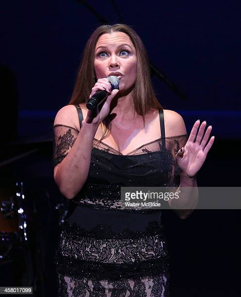 Vanessa Williams performs at the 22nd annual Oscar Hammerstein Award gala at The Hudson Theatre on December 9 2013 in New York City