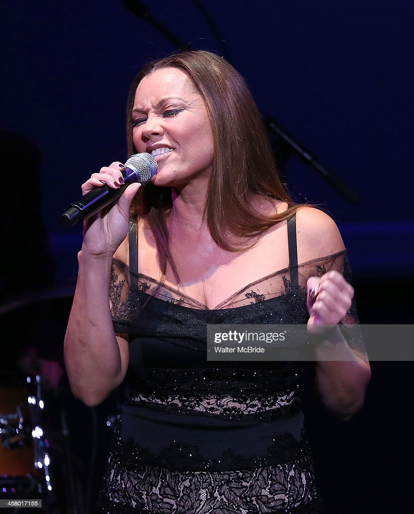Vanessa Williams performs at the 22nd annual Oscar Hammerstein Award gala at The Hudson Theatre on December 9, 2013 in New York City.