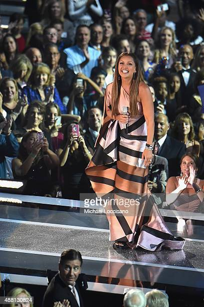 Vanessa Williams performs onstage during the 2016 Miss America Competition at Boardwalk Hall Arena on September 13 2015 in Atlantic City New Jersey