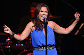 Vanessa Williams performs with JT Lewis at Valley Performing Arts Center on January 16 2015 in Northridge California