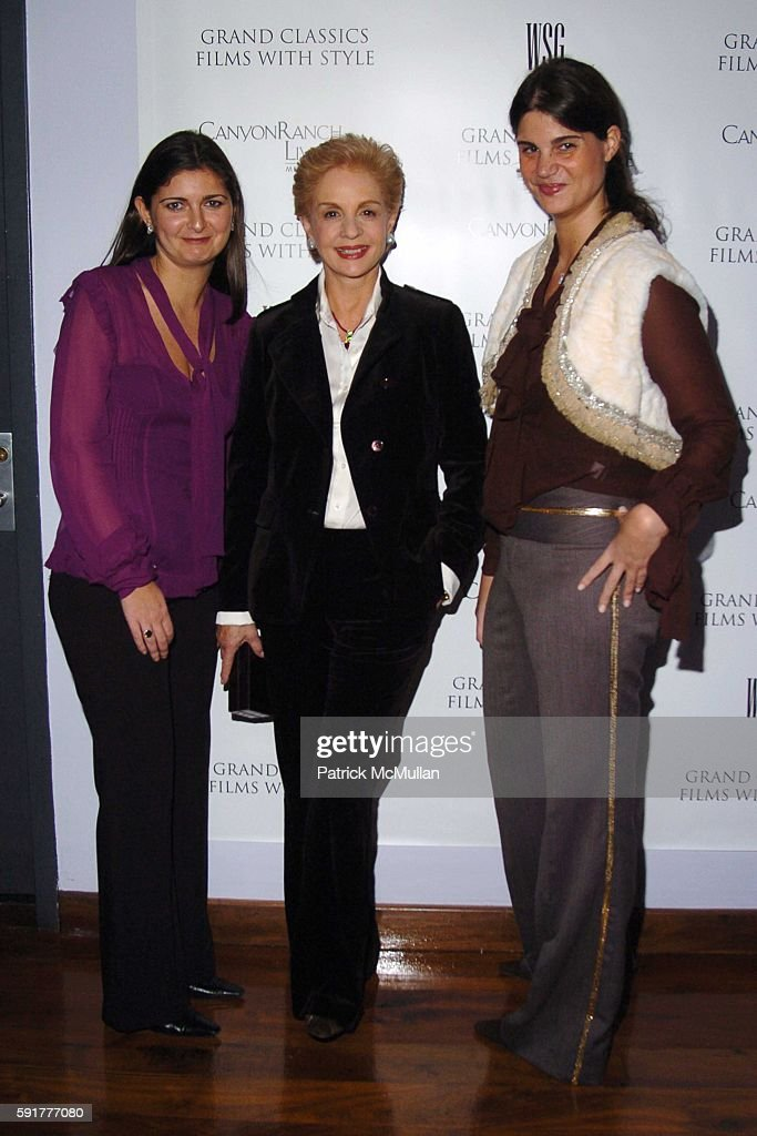 Vanessa Wingate Carolina Herrera and Katrina Pavlos attend Grand Classics Films With Style hosted by Carolina Herrera and sponsored by WSG/Canyon...