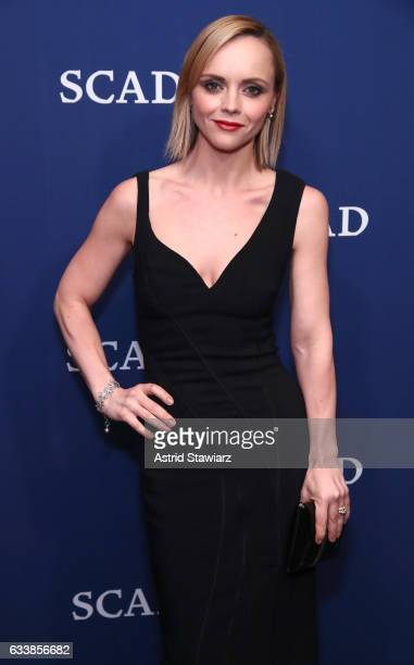 Vanguard Award recipient actress Christina Ricci attends a photo opp on Day Three of aTVfest 2017 presented by SCAD at SCADshow on February 4 2017 in...