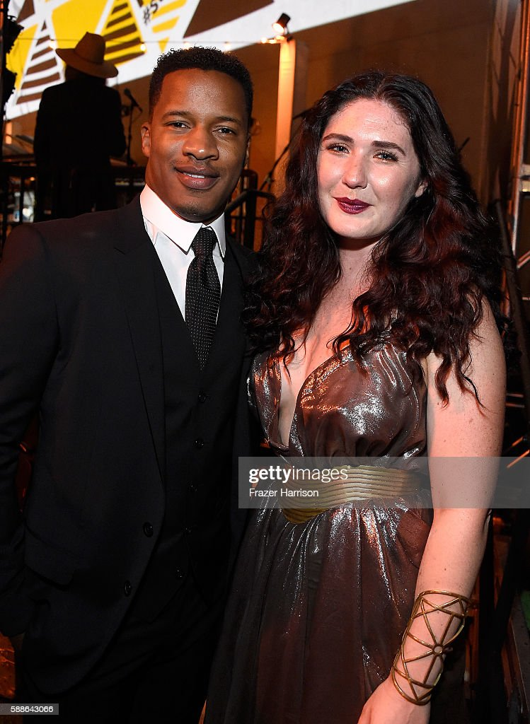 Vanguard Award recipient Nate Parker and singersongwriter Morgan Kibby attend the Sundance Institute NIGHT BEFORE NEXT Benefit at The Theatre at The...