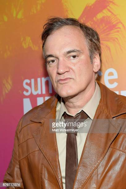 Vanguard Award recipient Quentin Tarantino attends Sundance NEXT FEST After Dark at The Theater at The Ace Hotel on August 10 2017 in Los Angeles...