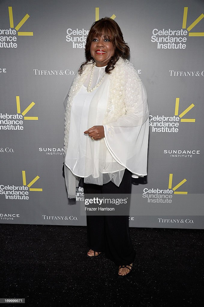Vanguard Leadership Award recipient Chaz Ebert (on behalf of honoree Roger Ebert) attends the 2013 'Celebrate Sundance Institute' Los Angeles Benefit hosted by Tiffany & Co. at The Lot on June 5, 2013 in West Hollywood, California.