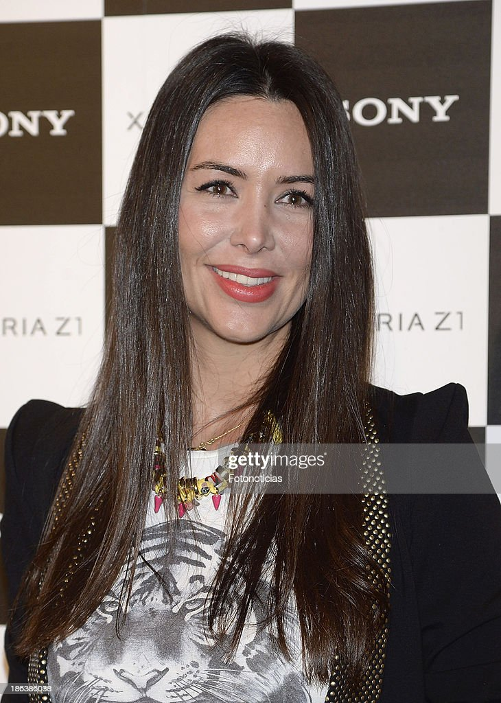 Vania Millan attends Sony Xperia Z1 photography exhibition at the Real Jardin Botanico on October 30, 2013 in Madrid, Spain.