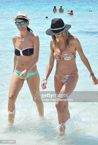Vania Millan is seen on July 13 2014 in Ibiza Spain