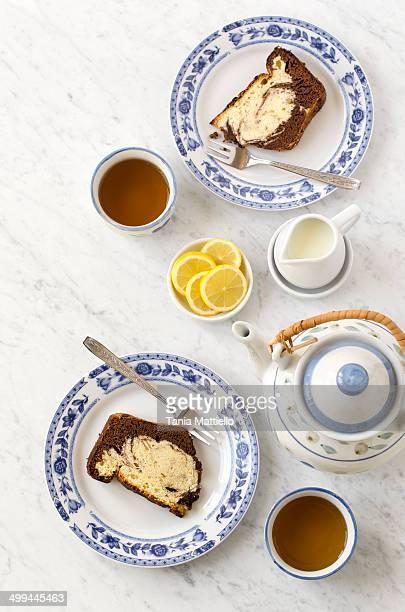 Vanilla and Cocoa Cake
