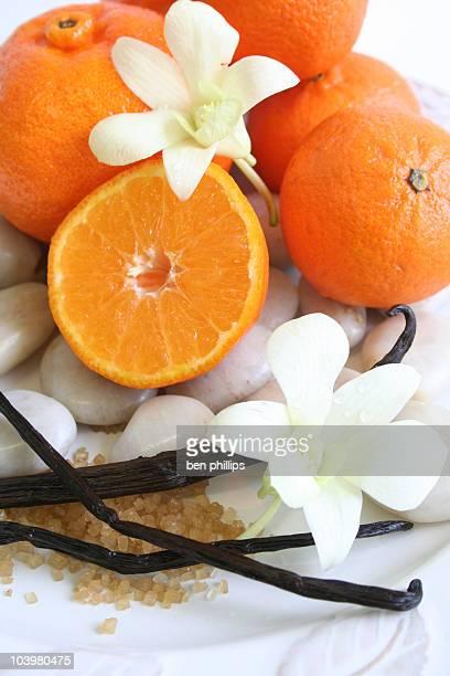Vanille und Mandarine