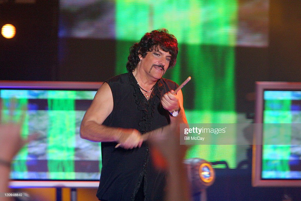 Vanilla Fudge drummer Carmine Appice performs a tribute to the Doors
