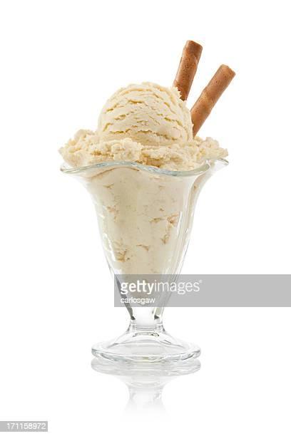 Vanilla Ice Cream Sundae.