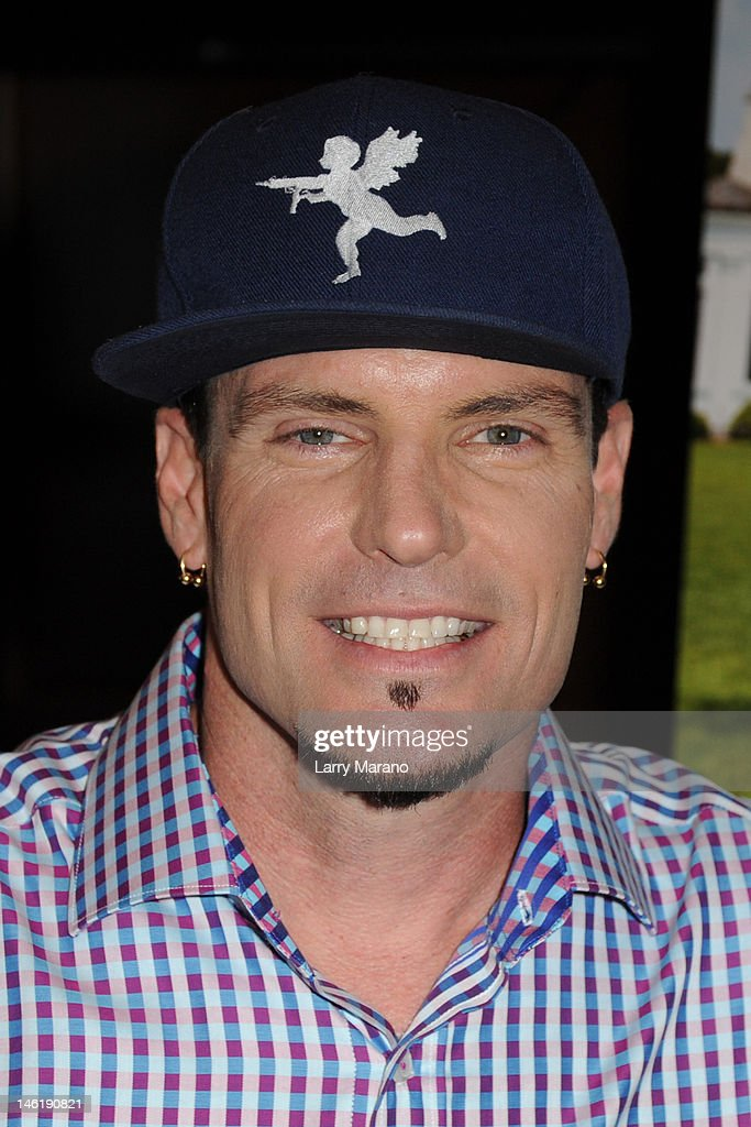 Vanilla Ice hosts the screening of 'That's My Boy' on June 11, 20...