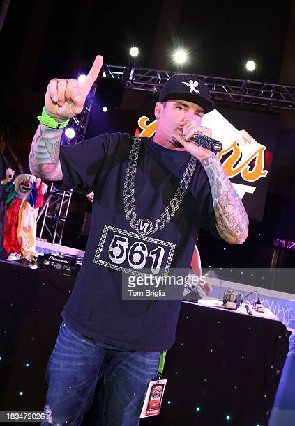 Vanilla Ice performs at The Pool After Dark at Harrah's Resort on Saturday October 5 2013 in Atlantic City New Jersey