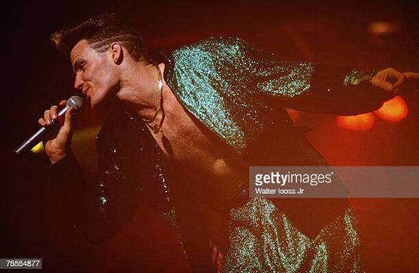 Vanilla Ice performs on stage in Boston Massachusetts