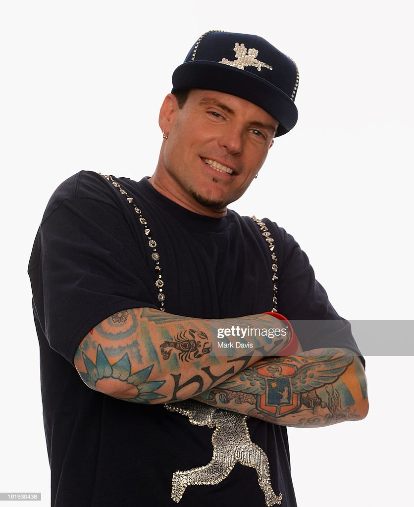 Vanilla Ice poses for a portrait in the TV Guide Portrait Studio at the 3rd Annual Streamy Awards at Hollywood Palladium on February 17, 2013 in Hollywood, California.