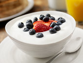 Vanilla Yogurt with Fresh Fruit