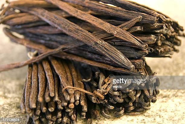 vanillabeans viele Vanillebohnen-viele Vanielleschoten