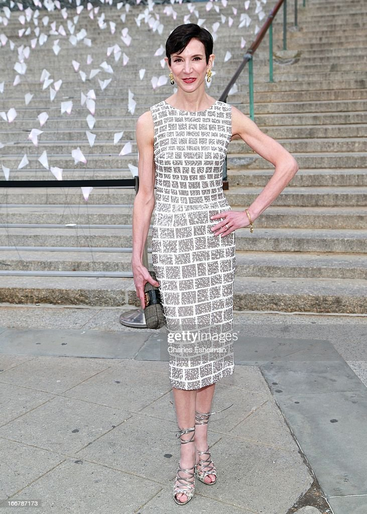 Vanity Fair contributing editor Amy Fine Collins attends the Vanity Fair Party during the 2013 Tribeca Film Festival at the State Supreme Courthouse on April 16, 2013 in New York City.