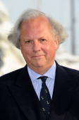 Vanity Fair editor Graydon Carter attends the Fair Game Cocktail Party hosted by Giorgio Armani held aboard his boat 'Main' during the 63rd Annual...