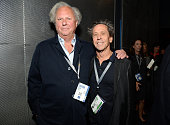 Vanity Fair EditorinChief Graydon Carter and Imagine Entertainment Cofounder Brian Grazer attend the Vanity Fair New Establishment Summit at Yerba...
