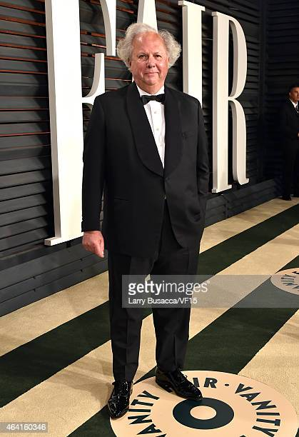Vanity Fair EditorinChief Graydon Carter attends the 2015 Vanity Fair Oscar Party hosted by Graydon Carter at the Wallis Annenberg Center for the...