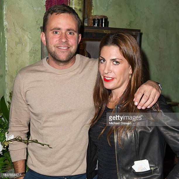 Vanity Fair Fashion Market Director Michael Carl and Fingerprint Communications President/Founder Jessica Meisels attend the Eli Halili Soho Boutique...