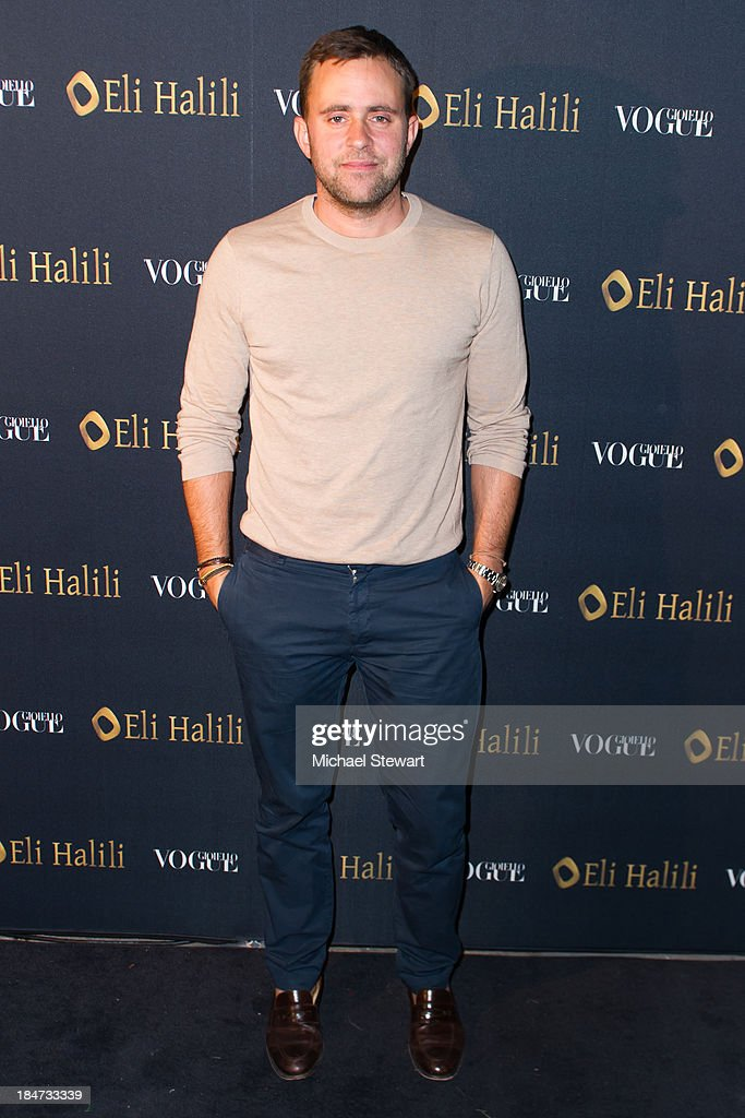 Vanity Fair Fashion Market Director Michael Carl attends the Eli Halili Soho Boutique Grand Opening with Vogue Gioiello on October 15, 2013 in New York City.
