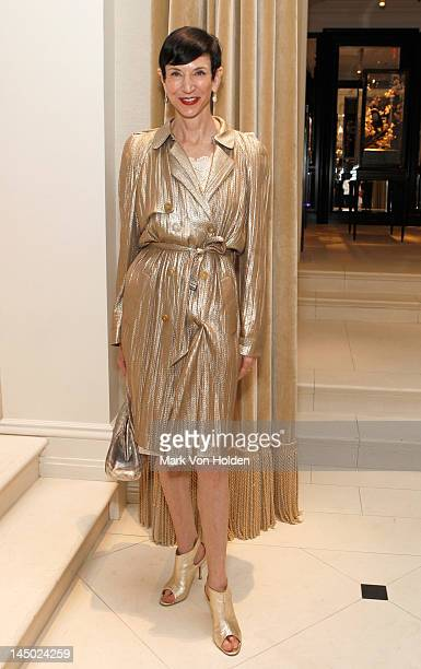 Vanity Fair special correspondent Amy Fine Collins attends the Ralph Lauren celebration for the publication of 'The Hamptons Food Family and History'...