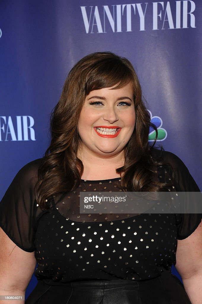 EVENTS -- 'NBC & Vanity Fair Toast the 2013 Launch' -- Pictured: Aidy Bryant 'Saturday Night Live' arrives at the NBC & Vanity Fair Toast the 2013 Launch party at Top of The Standard in New York City on Monday, September 16, 2013 --