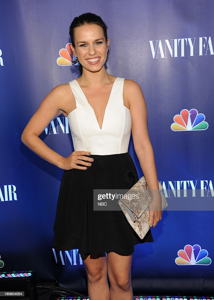 EVENTS -- 'NBC & Vanity Fair Toast the 2013 Launch' -- Pictured: Ana Nogueira 'The Michael J. Fox Show' arrives at the NBC & Vanity Fair Toast the 2013 Launch party at Top of The Standard in New York City on Monday, September 16, 2013 --