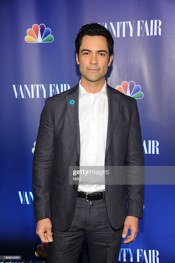 EVENTS -- 'NBC & Vanity Fair Toast the 2013 Launch' -- Pictured: <a gi-track='captionPersonalityLinkClicked' href=/galleries/search?phrase=Danny+Pino&family=editorial&specificpeople=240258 ng-click='$event.stopPropagation()'>Danny Pino</a> 'Law & Order' SVU arrives at the NBC & Vanity Fair Toast the 2013 Launch party at Top of The Standard in New York City on Monday, September 16, 2013 --