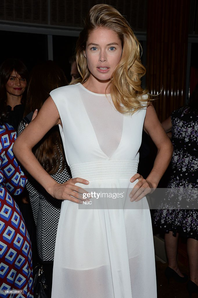 EVENTS -- 'NBC & Vanity Fair Toast the 2013 Launch' -- Pictured: Doutzen Kroes, Model during the NBC & Vanity Fair Toast the 2013 Launch party at Top of The Standard in New York City on Monday, September 16, 2013 --