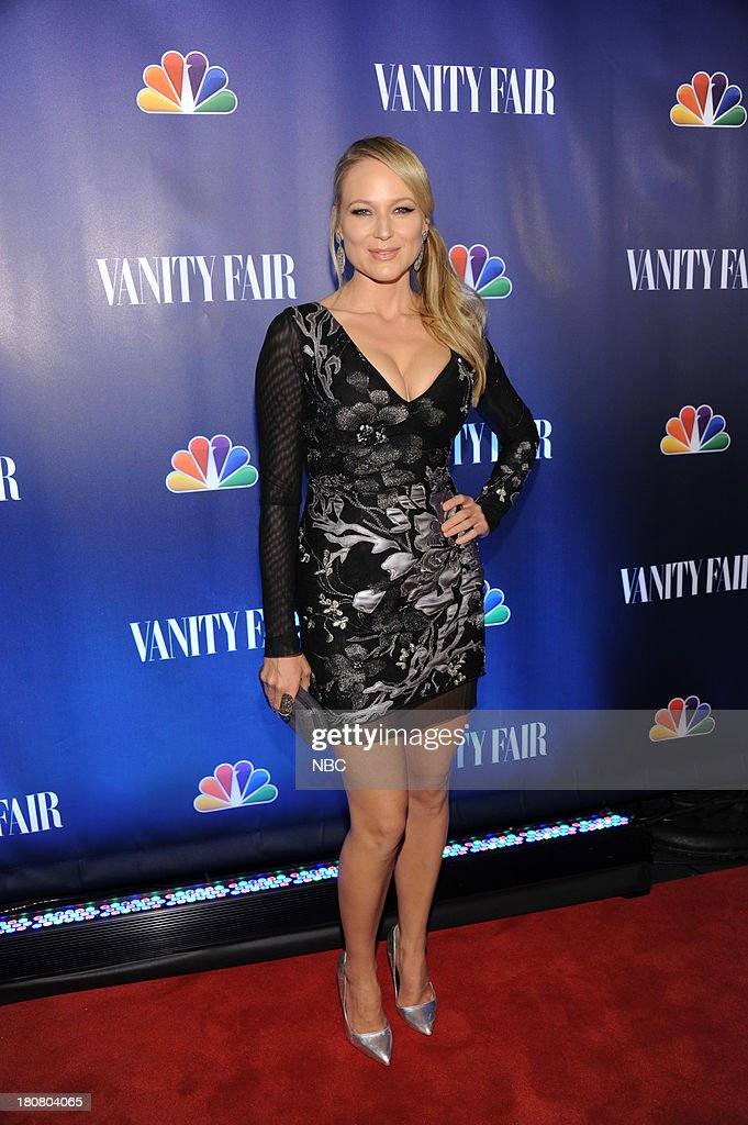 EVENTS -- 'NBC & Vanity Fair Toast the 2013 Launch' -- Pictured: Jewel 'The Sing Off' arrives at the NBC & Vanity Fair Toast the 2013 Launch party at Top of The Standard in New York City on Monday, September 16, 2013 --