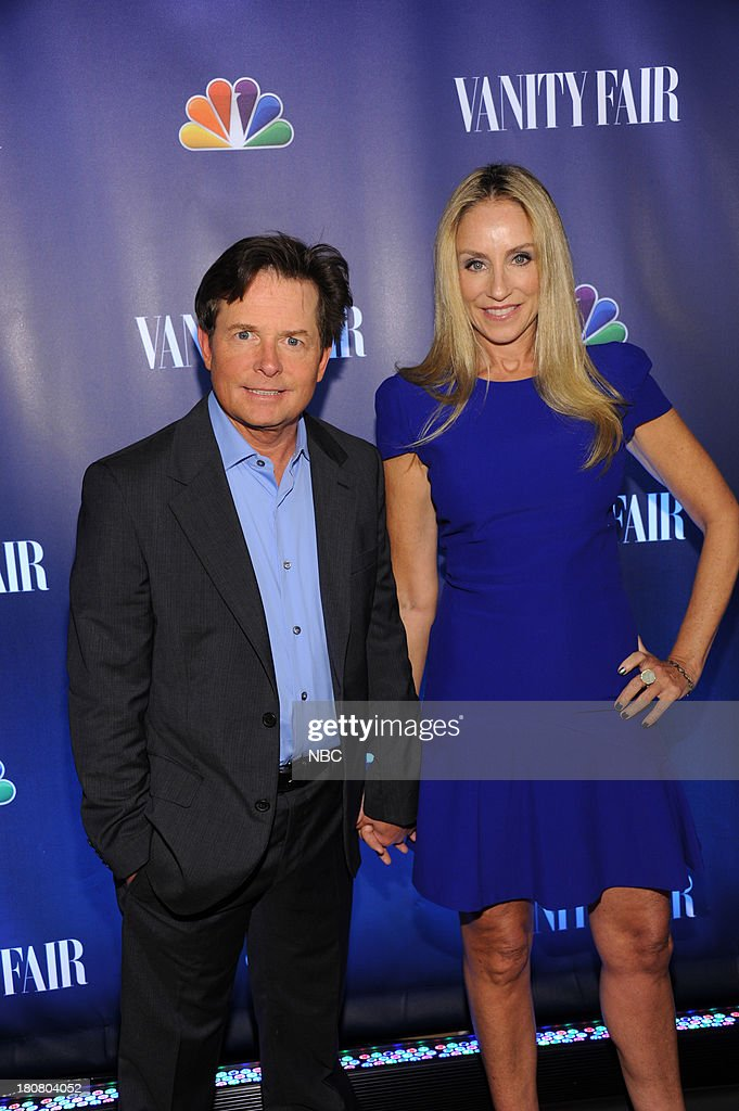 EVENTS -- 'NBC & Vanity Fair Toast the 2013 Launch' -- Pictured: Michael J. Fox, 'The Michael J. Fox Show', Tracy Pollan, 'The Michael J. Fox Show' arrives at the NBC & Vanity Fair Toast the 2013 Launch partyat Top of The Standard in New York City on Monday, September 16, 2013 --