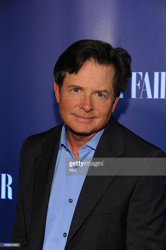 EVENTS -- 'NBC & Vanity Fair Toast the 2013 Launch' -- Pictured: Michael J. Fox, 'The Michael J. Fox Show' arrives at the NBC & Vanity Fair Toast the 2013 Launch partyat Top of The Standard in New York City on Monday, September 16, 2013 --