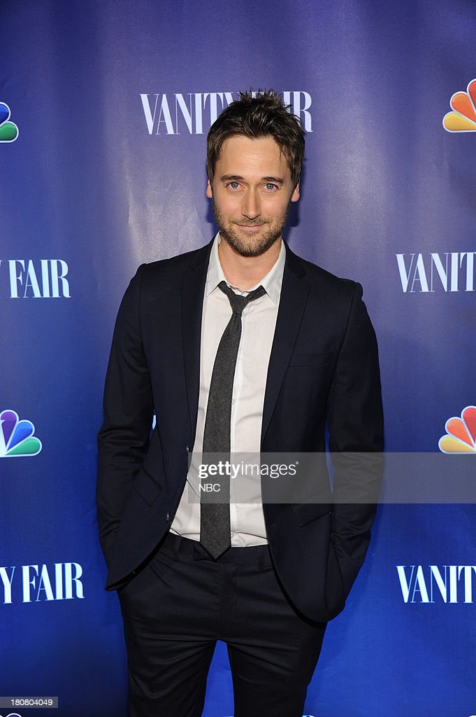 EVENTS -- 'NBC & Vanity Fair Toast the 2013 Launch' -- Pictured: Ryan Eggold 'The Blacklist' arrives at the NBC & Vanity Fair Toast the 2013 Launch party at Top of The Standard in New York City on Monday, September 16, 2013 --