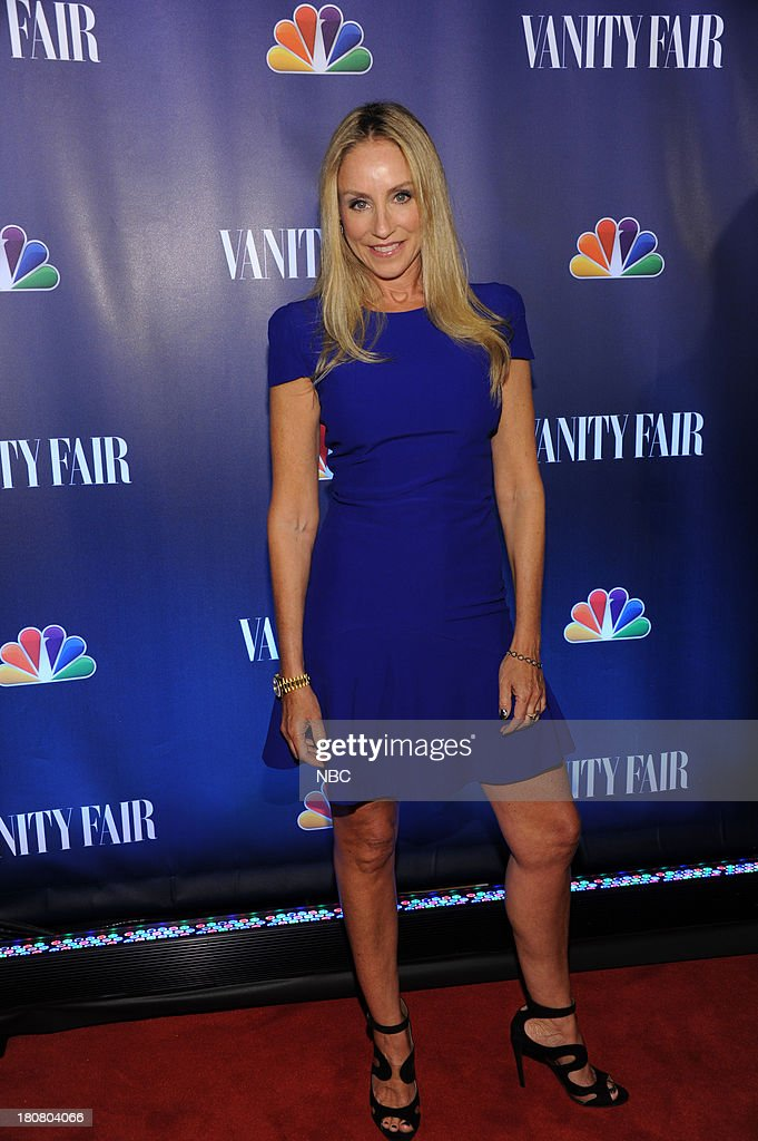 EVENTS -- 'NBC & Vanity Fair Toast the 2013 Launch' -- Pictured: <a gi-track='captionPersonalityLinkClicked' href=/galleries/search?phrase=Tracy+Pollan&family=editorial&specificpeople=216511 ng-click='$event.stopPropagation()'>Tracy Pollan</a>, 'The Michael J. Fox Show' arrives at the NBC & Vanity Fair Toast the 2013 Launch partyat Top of The Standard in New York City on Monday, September 16, 2013 --