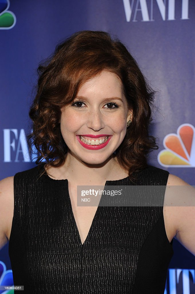 EVENTS -- 'NBC & Vanity Fair Toast the 2013 Launch' -- Pictured: Vanessa Bayer 'Saturday Night Live' arrives at the NBC & Vanity Fair Toast the 2013 Launch party at Top of The Standard in New York City on Monday, September 16, 2013 --
