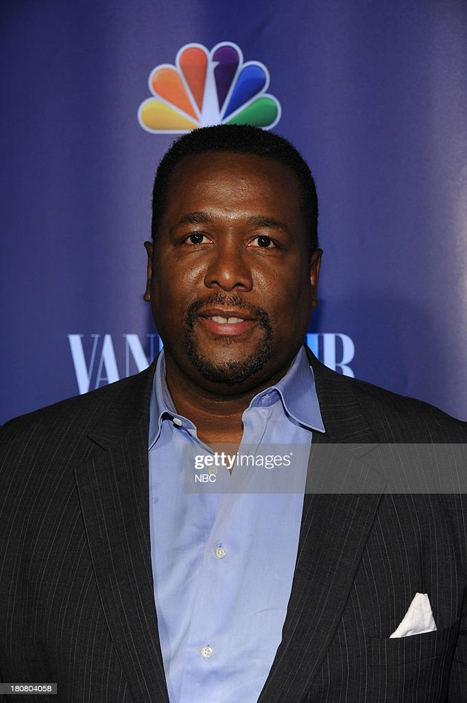 EVENTS -- 'NBC & Vanity Fair Toast the 2013 Launch' -- Pictured: Wendell Pierce 'The Michael J. Fox Show' arrives at the NBC & Vanity Fair Toast the 2013 Launch partyat Top of The Standard in New York City on Monday, September 16, 2013 --