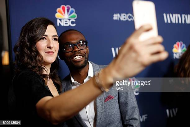 EVENTS 'NBC Vanity Fair Toast the 20162017 TV Season' at NeueHouse Hollywood in Los Angeles on Wednesday November 2 2016 Pictured D'Arcy Carden...
