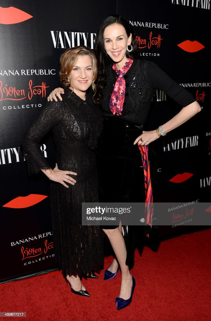 Vanity Fair West Coast Editor Krista Smith (L) and fashion designer <a gi-track='captionPersonalityLinkClicked' href=/galleries/search?phrase=L%27Wren+Scott+-+Fashion+Designer&family=editorial&specificpeople=566708 ng-click='$event.stopPropagation()'>L'Wren Scott</a> attend the launch celebration of the Banana Republic <a gi-track='captionPersonalityLinkClicked' href=/galleries/search?phrase=L%27Wren+Scott+-+Fashion+Designer&family=editorial&specificpeople=566708 ng-click='$event.stopPropagation()'>L'Wren Scott</a> Collection hosted by Banana Republic, <a gi-track='captionPersonalityLinkClicked' href=/galleries/search?phrase=L%27Wren+Scott+-+Fashion+Designer&family=editorial&specificpeople=566708 ng-click='$event.stopPropagation()'>L'Wren Scott</a> and Krista Smith at Chateau Marmont on November 19, 2013 in Los Angeles, California.