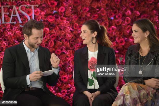 Vanity Fair's Derek Blasberg Livia Firth and Laure Heriard Durbreuil were part of a panel discussion on storytelling through fashion inspired by...